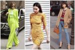 Hà Hồ phô diễn body không chút mỡ thừa - Hương Giang khoe street style đẳng cấp chẳng kém sao quốc tế