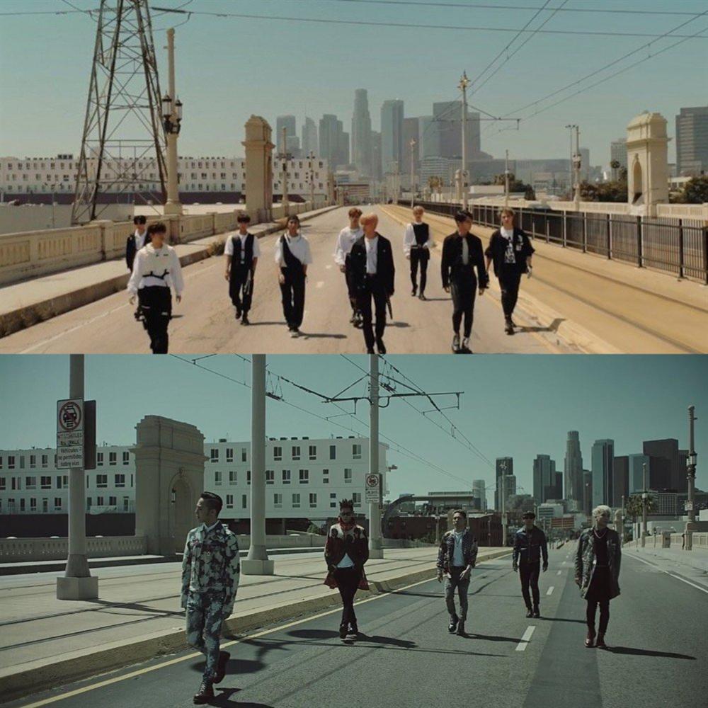 Mỉa mai Big Bang không phải nhóm nhạc huyền thoại nhưng JYP lại cho gà nhà học theo-1