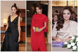 Hương Giang - Thanh Hằng - Vũ Thu Phương xúng xính váy áo, khoe sắc bất phân thắng bại tại sự kiện