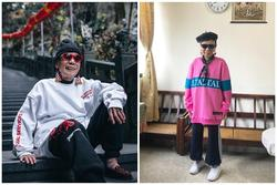 Cụ bà 91 tuổi mặc đồ chất như giới trẻ, có 100.000 fan trên mạng