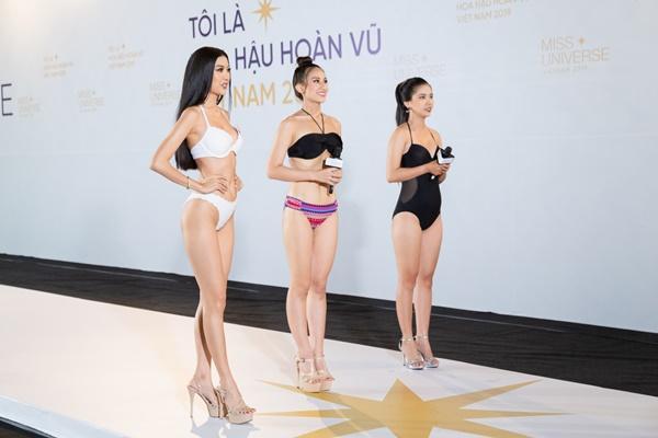 Là thí sinh nhưng xuất hiện như celeb, Thúy Vân lập tức bị nhắc nhở tại Hoa hậu Hoàn vũ Việt Nam 2019-1