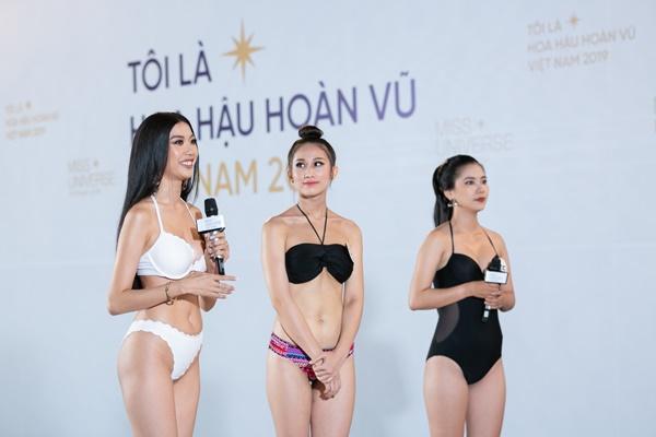 Là thí sinh nhưng xuất hiện như celeb, Thúy Vân lập tức bị nhắc nhở tại Hoa hậu Hoàn vũ Việt Nam 2019-2