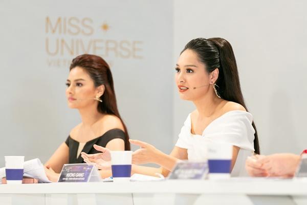 Là thí sinh nhưng xuất hiện như celeb, Thúy Vân lập tức bị nhắc nhở tại Hoa hậu Hoàn vũ Việt Nam 2019-4