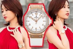 Sau H'Hen Niê bán dây chuyền vàng, Đỗ Mỹ Linh cũng bán đồng hồ nửa tỉ để làm từ thiện