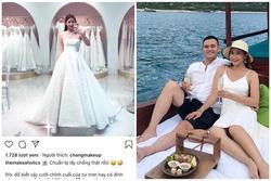 Beauty blogger Linh Trương bất ngờ thử váy cưới, tiết lộ sắp lấy chồng