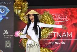 Quốc phục của Thu Hiền bị chê 'không liên quan', trắng tay tại Hoa hậu Châu Á Thái Bình Dương 2019