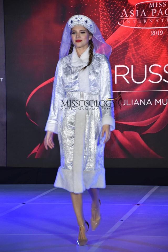 Quốc phục của Thu Hiền bị chê không liên quan, trắng tay tại Hoa hậu Châu Á Thái Bình Dương 2019-4