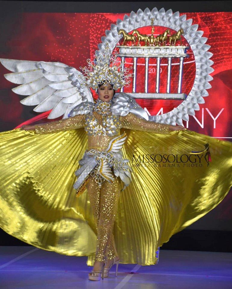Quốc phục của Thu Hiền bị chê không liên quan, trắng tay tại Hoa hậu Châu Á Thái Bình Dương 2019-8