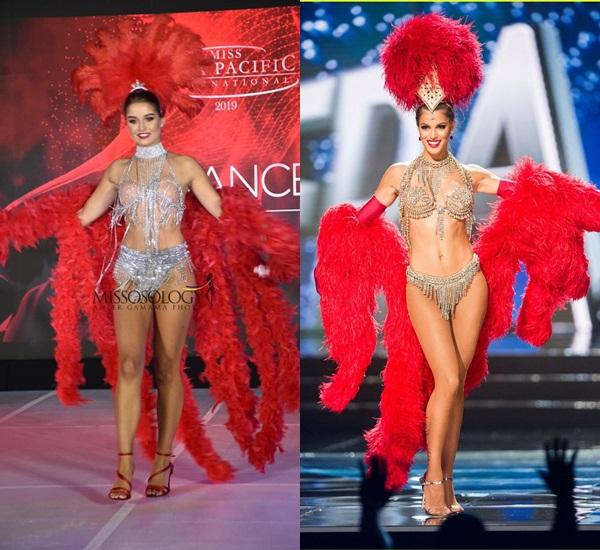 Quốc phục của Thu Hiền bị chê không liên quan, trắng tay tại Hoa hậu Châu Á Thái Bình Dương 2019-11
