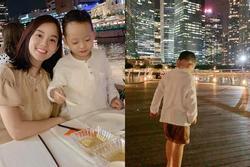 Thả vài hình ảnh ở Singapore, Ly Kute khiến ai cũng say mê trước ngoại hình chuẩn soái ca của Khoai Tây