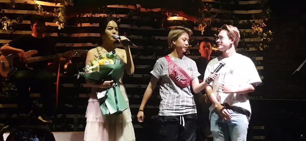 Vì chiều Phạm Quỳnh Anh, Bảo Hân dù chán ngấy nhạc phim Về Nhà Đi Con vẫn nhiệt tình cất giọng-1