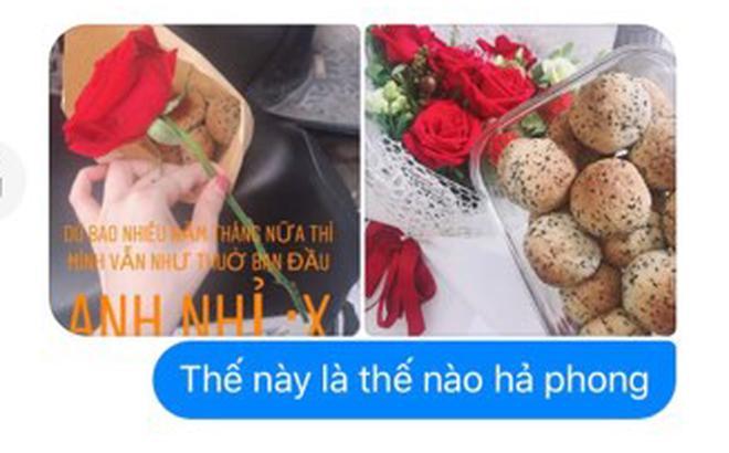 Khoe được bạn trai tặng bánh và hoa, cô gái ngã ngửa khi biết sự thật nhờ 1 bức ảnh bạn thân gửi đến-1