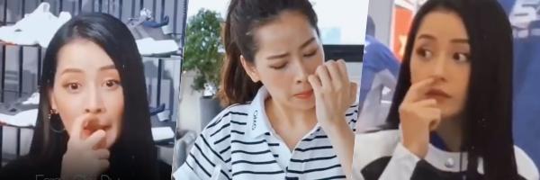 Hết bắt chước lộ nội y như Ngọc Trinh, Chi Pu lại học thói ngoáy mũi kém duyên của Kỳ Duyên-1