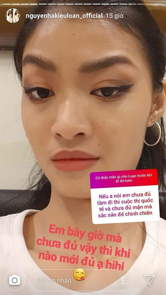 Bị người đẹp ngang ngược bỏ theo dõi, Á hậu Nguyễn Hà Kiều Loan phản ứng rất chát khiến dân mạng vỗ tay-10