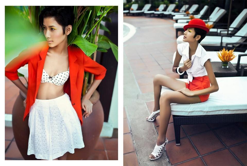 Bản tin Hoa hậu Hoàn vũ 6/10: Hoàng Thùy chỉ có da bọc xương, thân hình phẳng lỳ như chuyển giới-1
