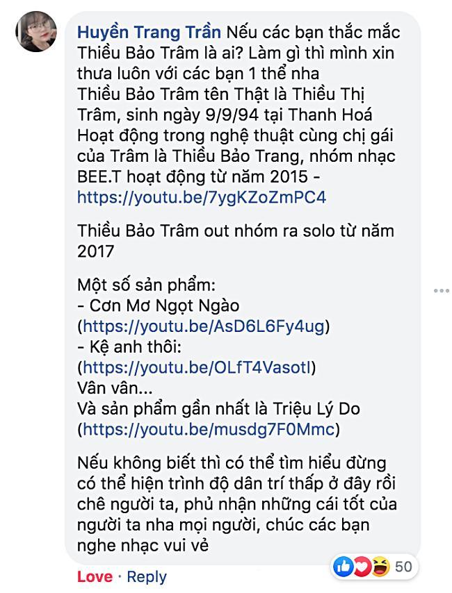 Đặt tên FC sau 6 năm đi hát, Thiều Bảo Trâm bị hỏi Là ai mà cũng có fan?-10