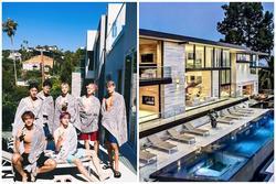 Nhóm nhạc Kpop sống trong biệt thự 8 triệu USD ở Mỹ