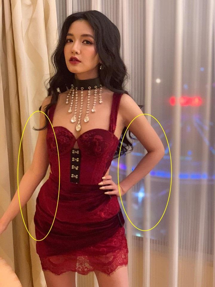Xinh như Bích Phương mà cũng photoshop ảo lòi đến dị dạng cả cánh tay-4