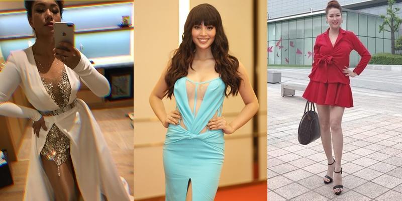Mặc sai quá sai, hoa hậu Trần Tiểu Vy bị nhận xét giống hệt Phi Thanh Vân - Phương Vy Idol-4