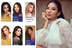 Bản tin Hoa hậu Hoàn vũ 7/10: Đối thủ đã gây sốt trang chủ Miss Universe mà Hoàng Thùy vẫn chưa lộ diện