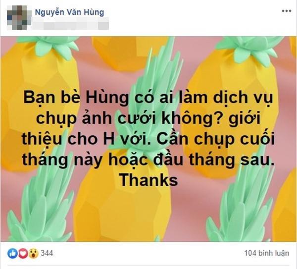 Dân mạng xôn xao trước thông tin cặp đôi chưa cao đến 1m2 ở Hà Nội chuẩn bị đám cưới-5