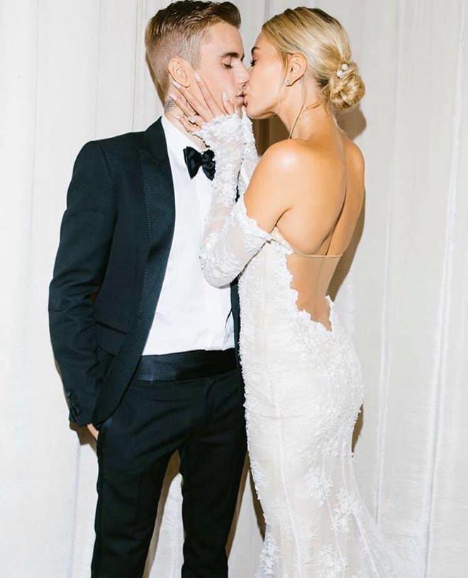 Vợ Justin Bieber khoe ảnh cưới: Cho đến khi cái chết chia lìa đôi ta-2