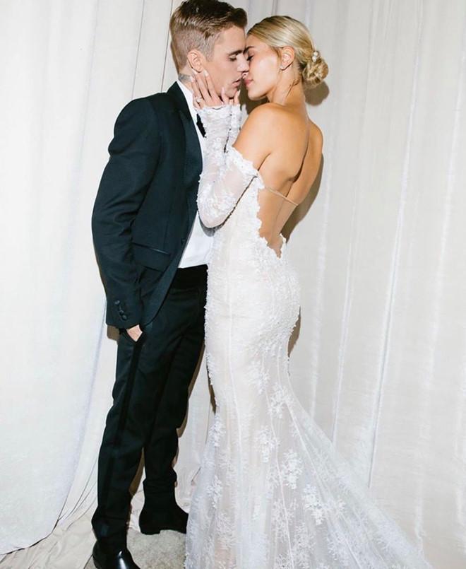 Vợ Justin Bieber khoe ảnh cưới: Cho đến khi cái chết chia lìa đôi ta-6