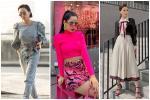 Mỹ nhân Việt tạo dáng kém duyên khi diện váy siêu ngắn-7
