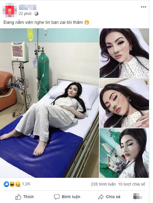 VZN News: Đang nằm viện, nghe tin bạn trai tới thăm, cô gái bật dậy trang điểm nhưng nhìn khuôn mặt sau đó ai nấy đều hết hồn-1