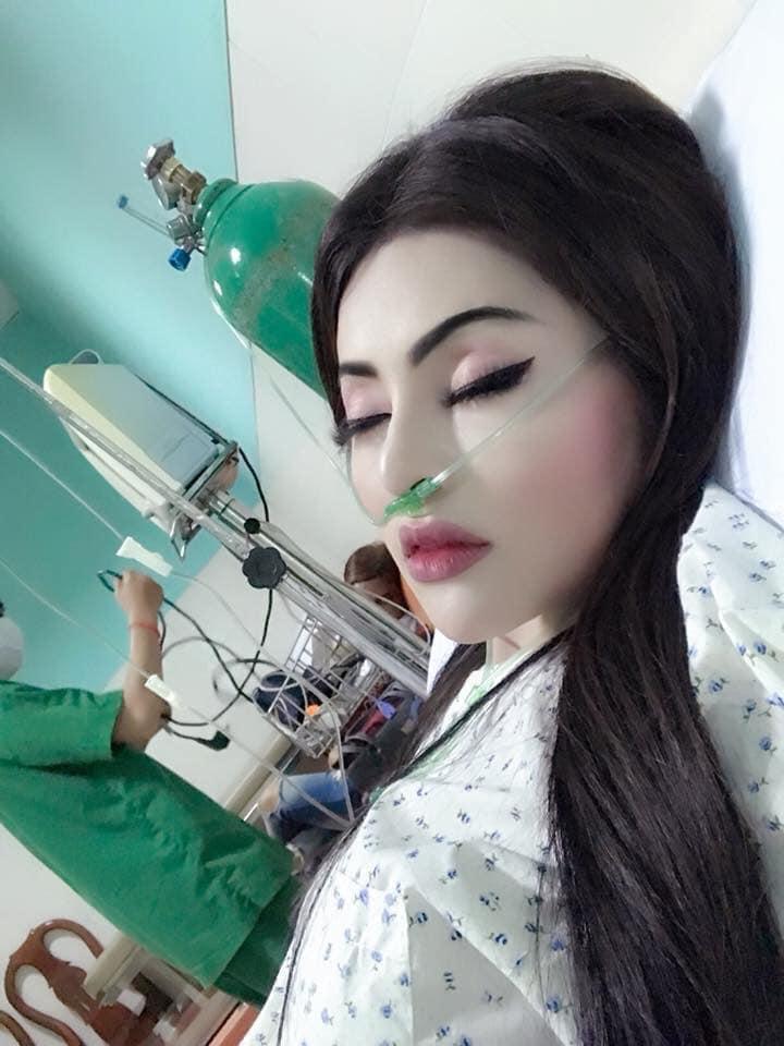 Đang nằm viện, nghe tin bạn trai tới thăm, cô gái bật dậy trang điểm nhưng nhìn khuôn mặt sau đó ai nấy đều hết hồn-4