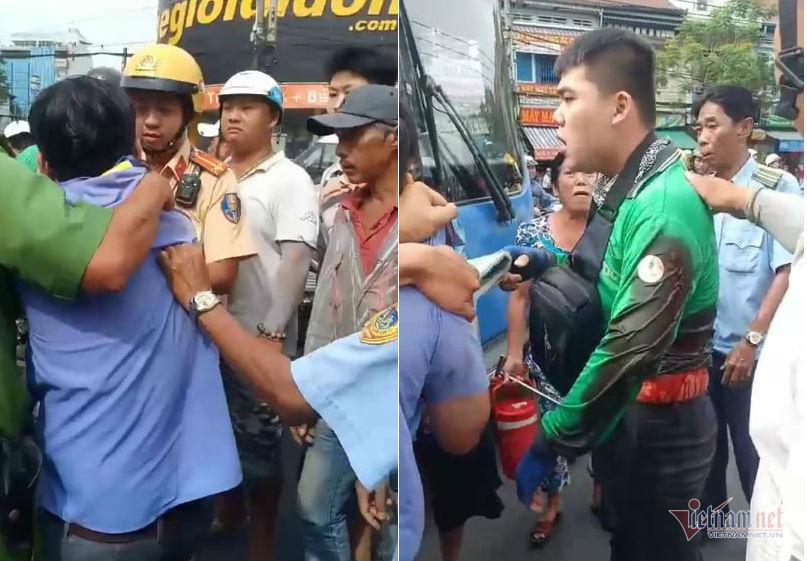 Tài xế xe buýt khai nguyên nhân đâm GrabBike trên phố Sài Gòn-1