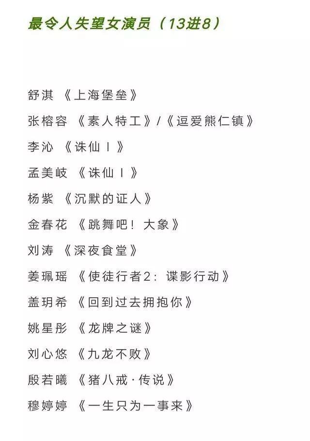 Dàn diễn viên Tru Tiên bao trọn gói đề cử giải… Cây chổi vàng-3