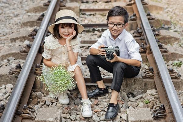 Cặp đôi tí hon nhất Việt Nam khoe ảnh cưới, dân mạng giật mình vì thân hình quá giống học sinh-6