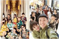 Nhóm bạn thân nhiều ca sĩ, diễn viên nổi tiếng của Trấn Thành