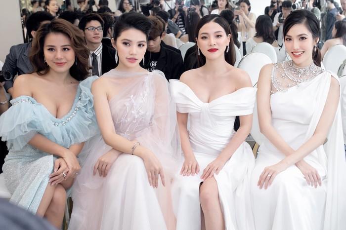 Đọ dáng dàn mỹ nhân đình đám, bà bầu Lan Khuê vẫn chứng minh nhan sắc không phải dạng vừa-3