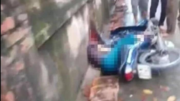 Hà Nội: Người đàn ông cầm gậy sắt vụt người đi xe máy tử vong tại chỗ-1