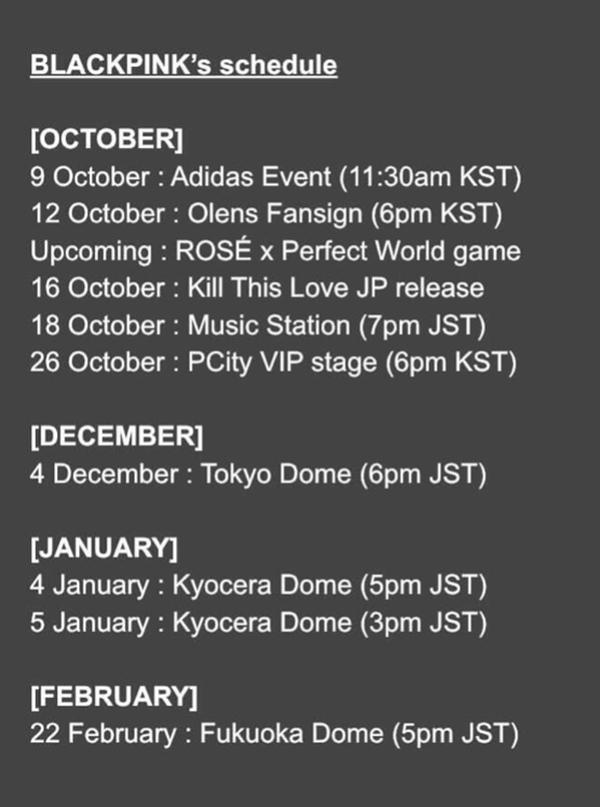 Thêm bằng chứng cho thấy BLACKPINK sẽ comeback vào tháng 11-5