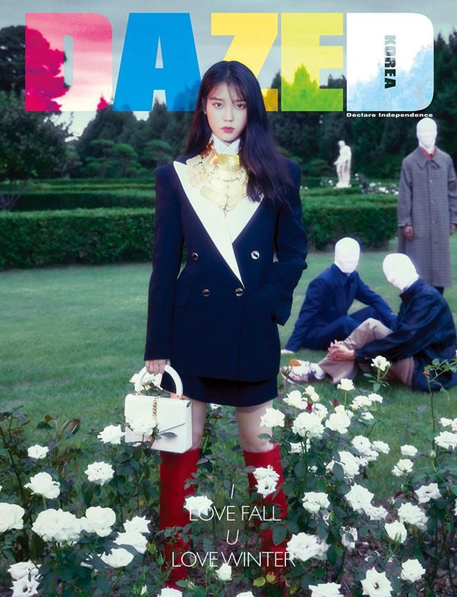 Thần thái ngút ngàn của IU trong loạt đồ hiệu trên tạp chí khiến fan mê mẩn-2