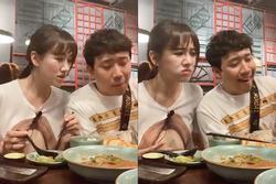 Bị Trấn Thành cà khịa trên bàn ăn, Hari Won tức giận đập đũa tuyên bố không cho ngủ cùng