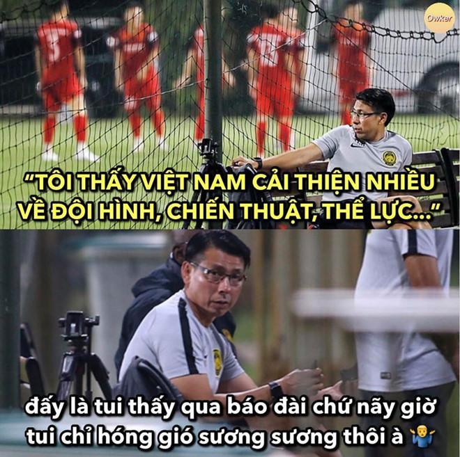 Ảnh chế Văn Lâm muốn rảnh để uống tà tưa trước trận gặp Malaysia-6