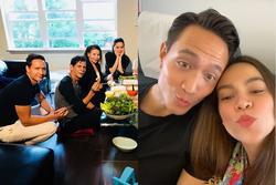 Clip HOT NHẤT hôm nay: Kim Lý gọi 'mẹ' ngọt xớt chúc mừng sinh nhật phụ huynh Hồ Ngọc Hà
