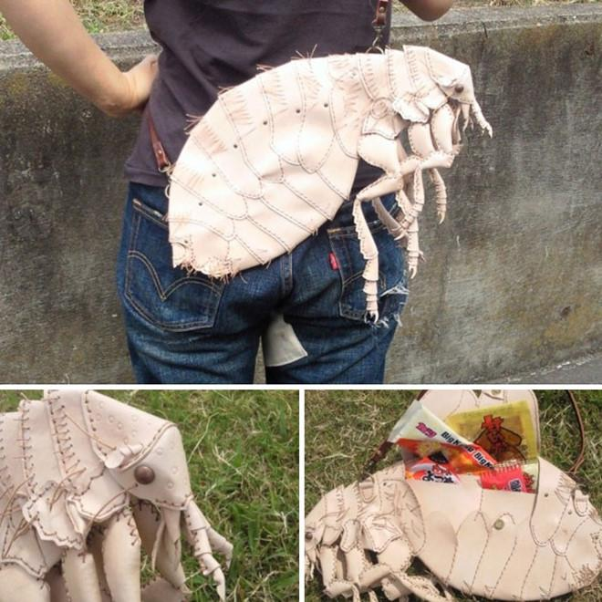 Túi xách giống con gián, sâu bọ khiến nhiều người nổi da gà-5