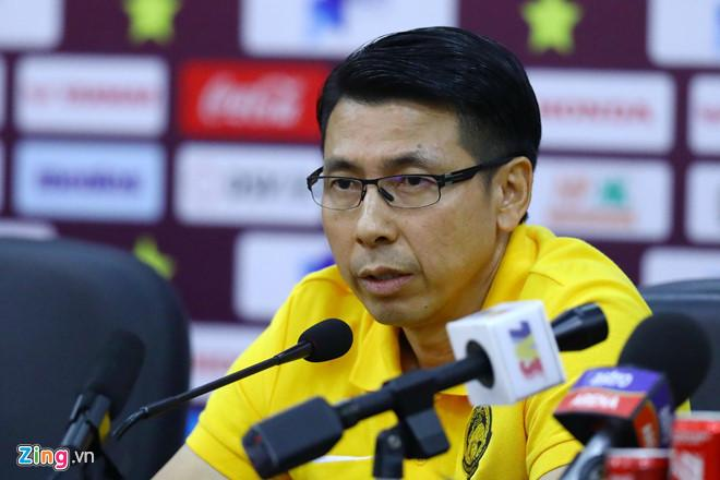 Thua sát nút Việt Nam với tỷ số 1 - 0, HLV Malaysia bỏ họp báo không rõ lý do-1