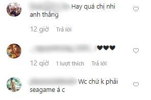 Đông Nhi tẽn tò khi nhanh tay viết nhầm World Cup thành SEA Games khi mặc áo đôi cổ vũ đội tuyển Việt Nam cùng Ông Cao Thắng-4