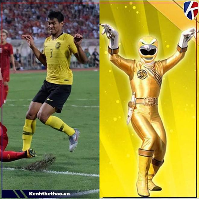 Cầu thủ Malaysia hóa meme của dân mạng sau điệu nhảy xòe cánh-4