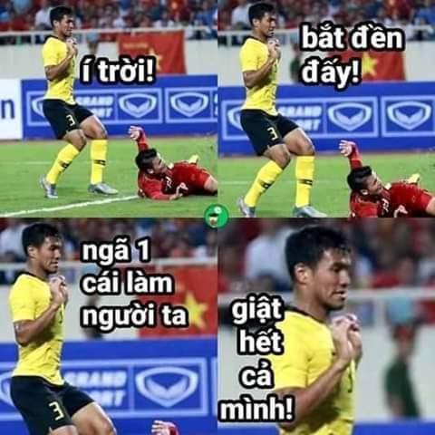 Cầu thủ Malaysia hóa meme của dân mạng sau điệu nhảy xòe cánh-7