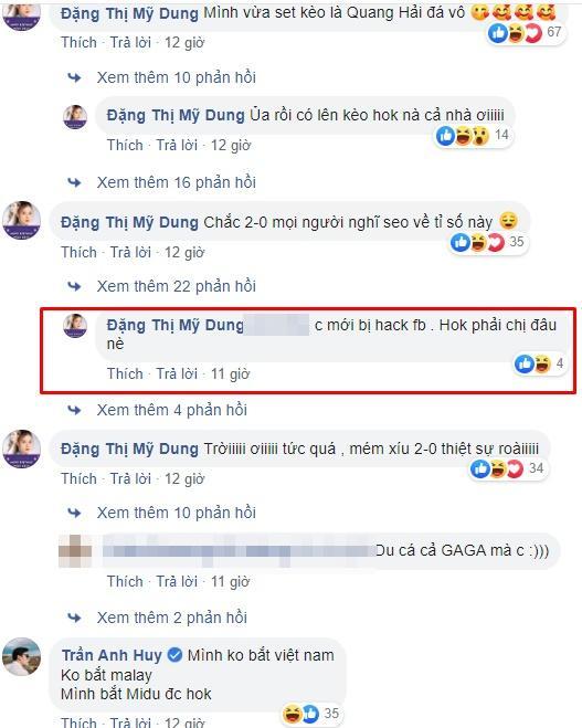 Midu được phong thánh lật kèo khi đưa ra lý do thiếu thuyết phục về tỷ số trận Việt Nam - Malaysia-2