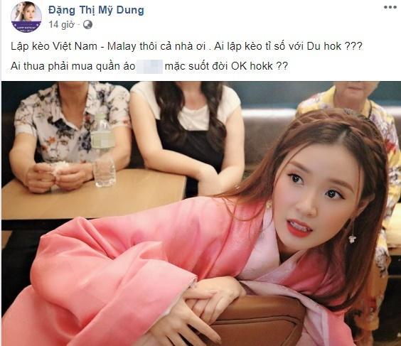Midu được phong thánh lật kèo khi đưa ra lý do thiếu thuyết phục về tỷ số trận Việt Nam - Malaysia-1