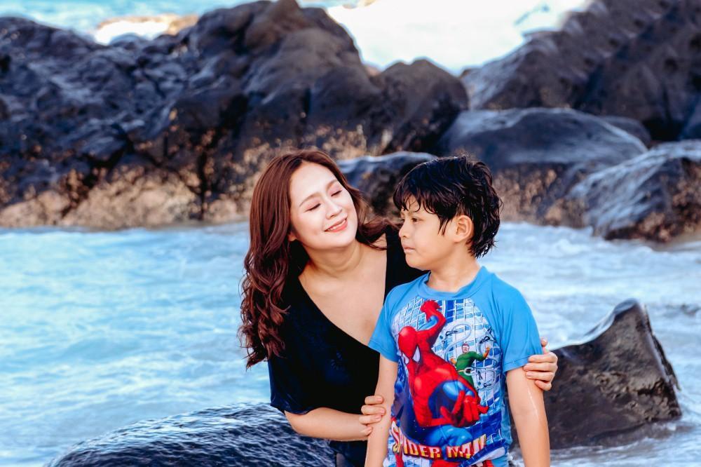 Quý tử 10 tuổi đã biết tương tư, Thanh Thúy lo lắng: Dại gái hệt như cha-1