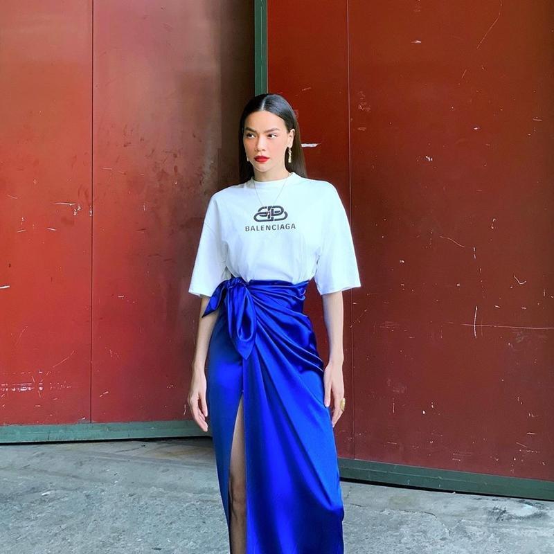 Chị chị em em Chi Pu - Thanh Hằng lên đồ đối lập: Em diện kimono - chị hơi hướng menswear-6